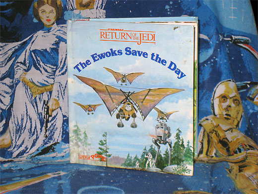 Ewoks Save the Day pop-up book
