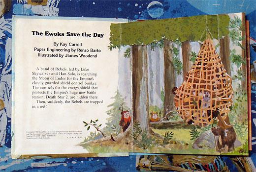 Star Wars: Ewoks Save the Day pop-up book