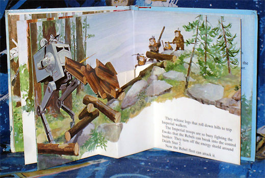 Star Wars: Ewoks Save the Day pop-up book
