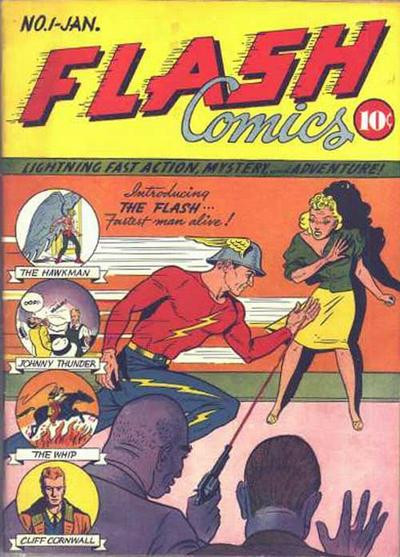 Flash Comics #1