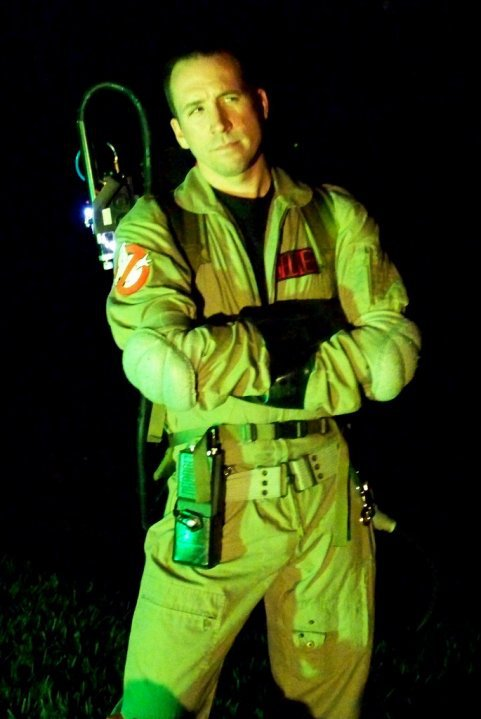 Robby Fuselier as Dr. Peter Venkman for IDW's Ghostbusters Holiday Special: What in Samhain Just Happened?!