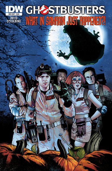 Ghostbusters Holiday Special: What in Samhain Just Happened?! by IDW