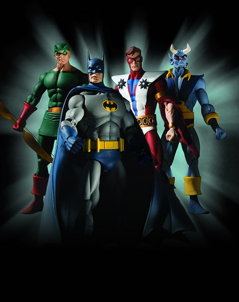History of the DC Universe Series One Action Figures