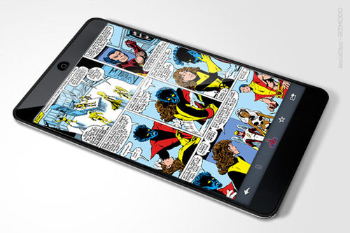 iPad comic books