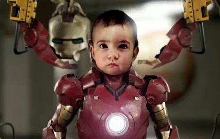 Iron Baby - Iron Man Parody