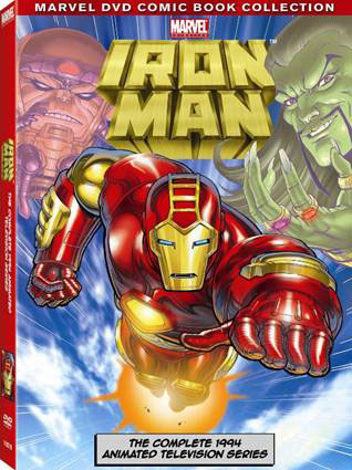 Iron Man The Animated Series on DVD