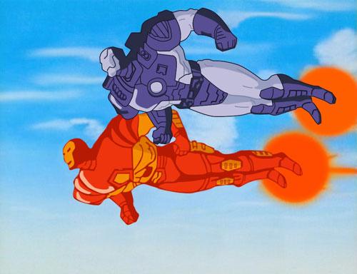 Iron Man The Animated Series on DVD