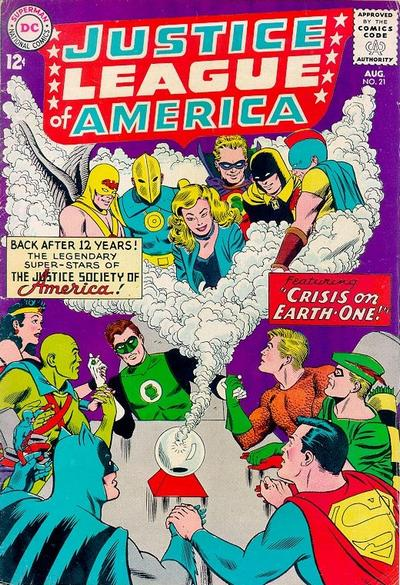 Justice League of America #21 guest-starring the Justice Society of America