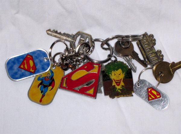 DC Comics Keychains