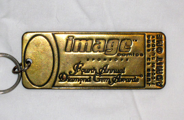 Image Comics 1994 Diamond Gem Awards Keychain