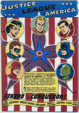 Justice League of America magnet