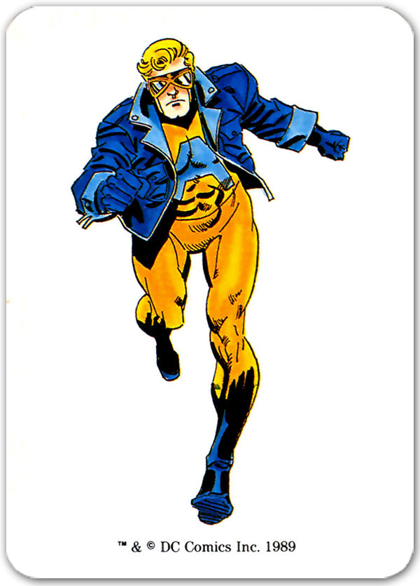 Animal Man from 1989 Mayfair DC Heroes Role-Playing Game