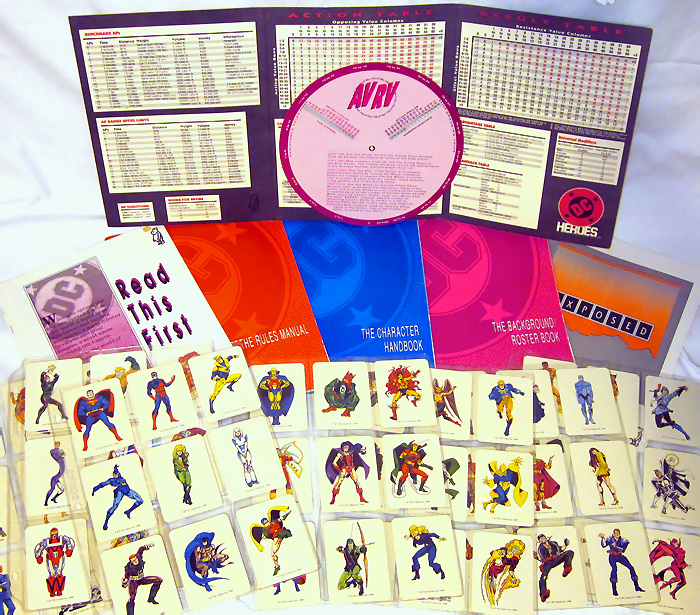 Mayfair DC Heroes Role-Playing Game Box Set 1989 Second Edition