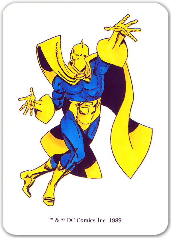 Doctor Fate from 1989 Mayfair DC Heroes Role-playing Game
