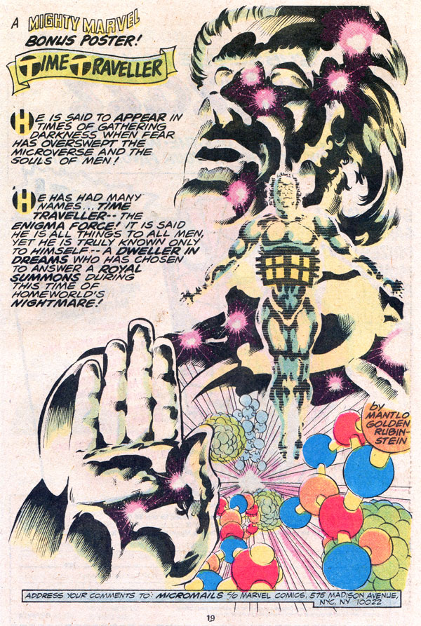 Micronauts Time Traveller/Enigma Force by Bill Mantlo, Michael Golden, and Joe Rubinstein