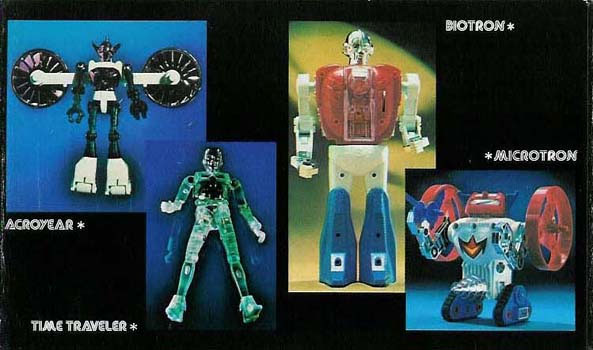 Micronauts toys by Mego