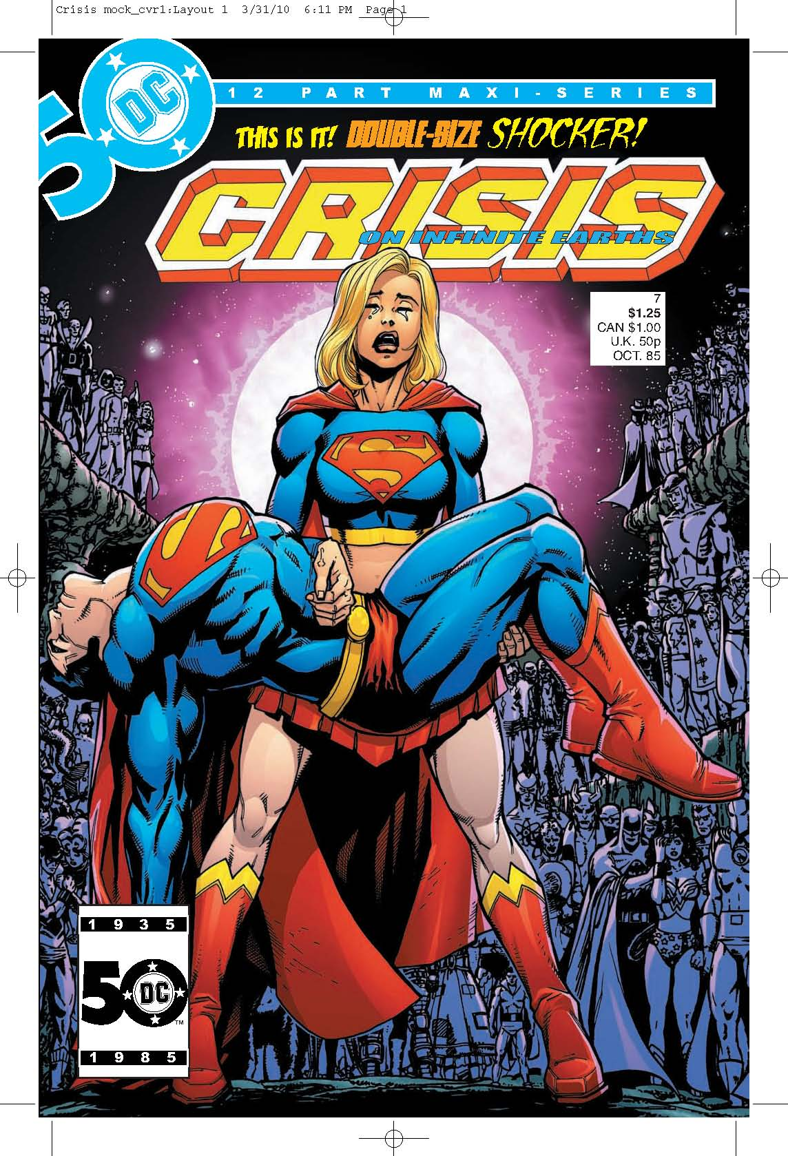 Crisis on Infinite Earths #7 - Fringe DC Comics Crossover