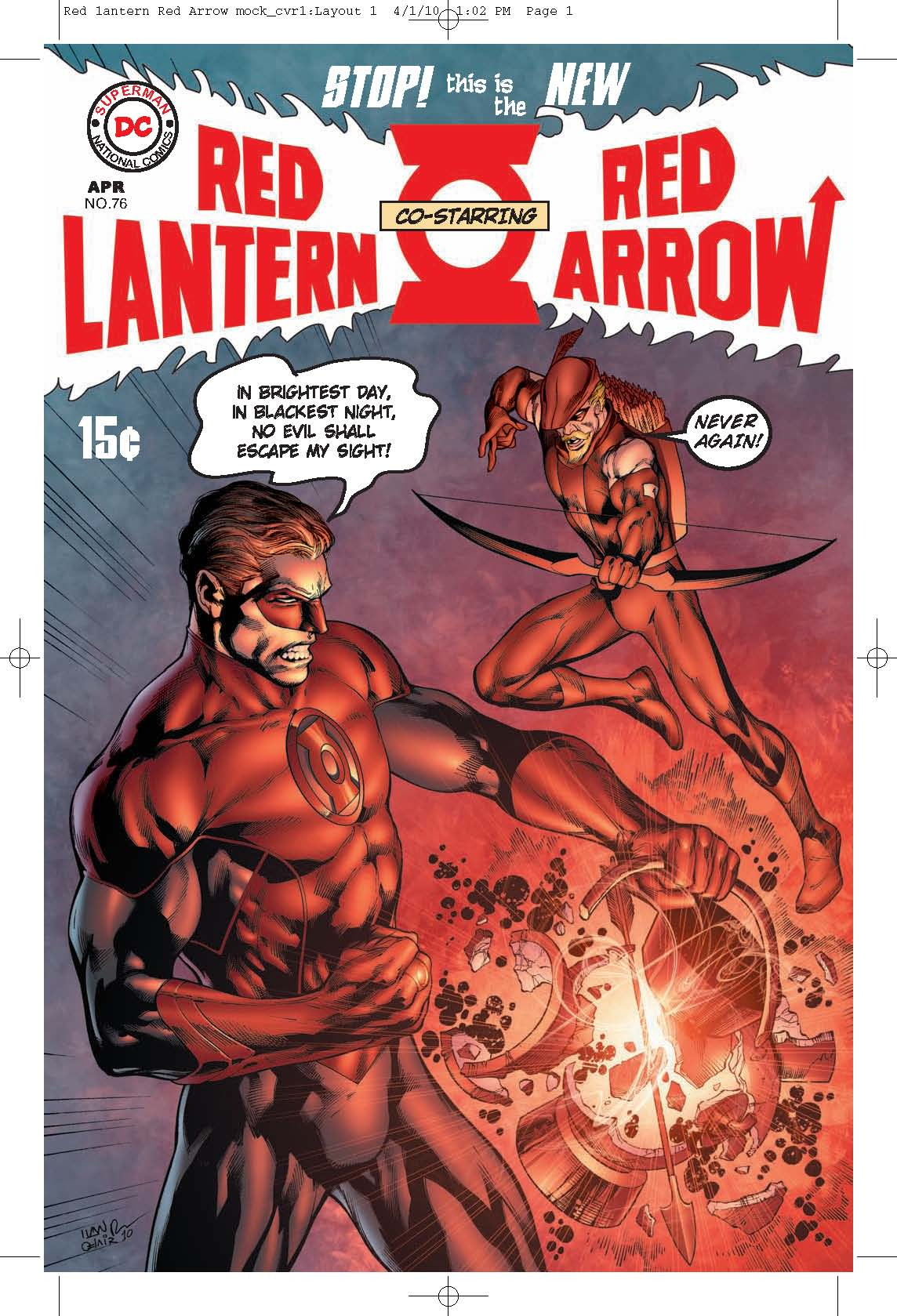 Red Lantern/Red Arrow #76 - Fringe DC Comics crossover