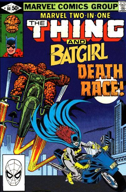 Marvel Two-in-One: Thing and Batgirl