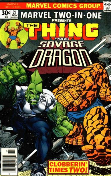 Marvel Two-in-One: Thing and Savage Dragon