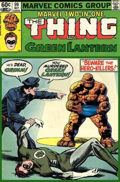 Marvel Two-in-One: Thing and Green Lantern