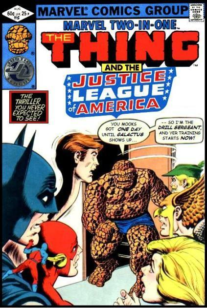 Marvel Two-in-One: Thing and the Justice League of America