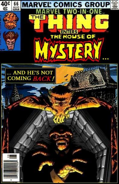 Marvel Two-in-One: Thing and the House of Mystery