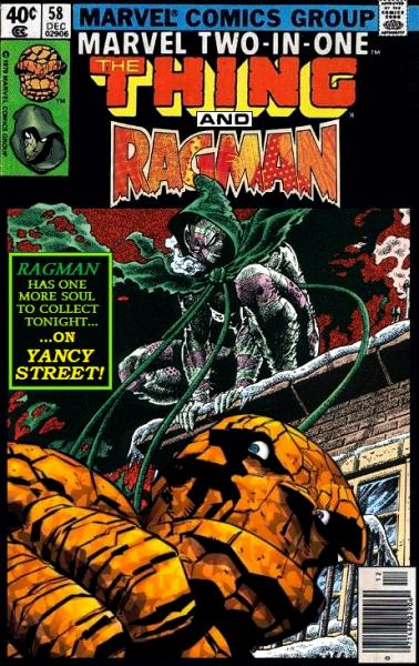 Marvel Two-in-One: Thing and Ragman