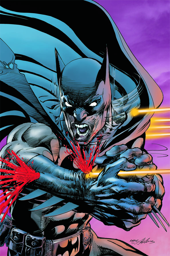 Neal Adams draws Batman: Odyssey