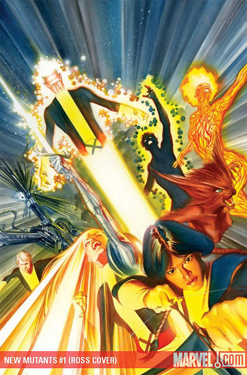 Alex Ross New Mutants #1