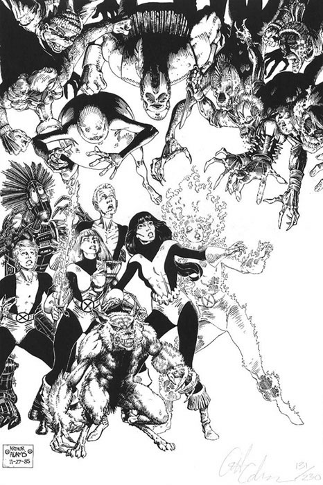 New Mutants by Art Adams