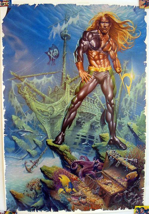 Aquaman poster by Craig Hamilton