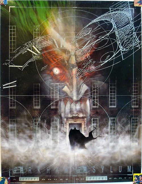 Arkham Asylum Poster by Dave McKean
