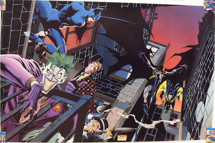 Batman Rogues Gallery Poster by Joe Quesada