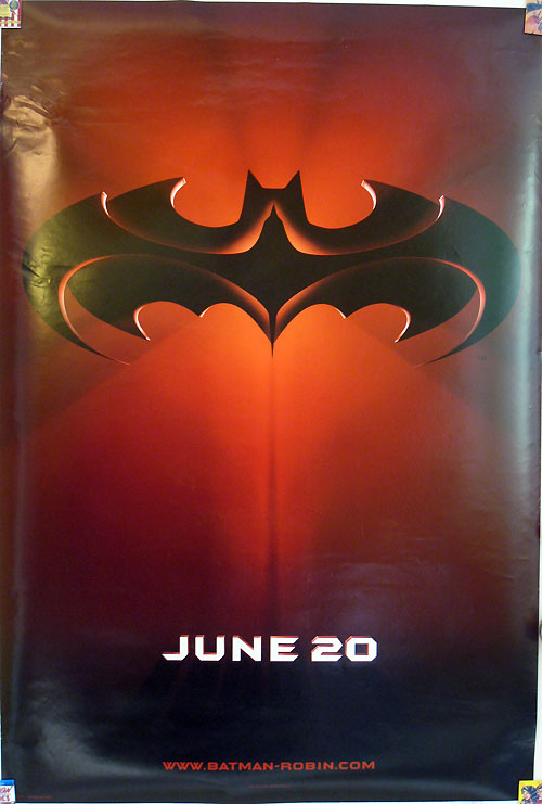 Batman & Robin movie teaser poster