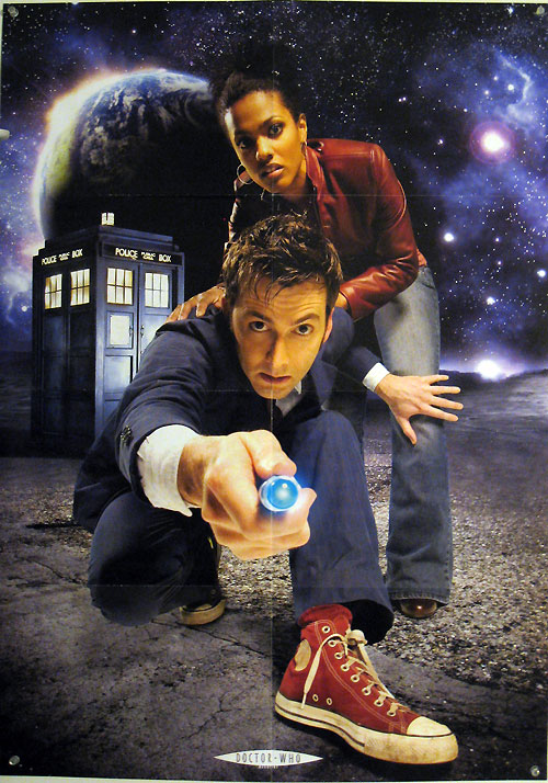 Doctor Who - David Tennent and Freema Agyeman poster