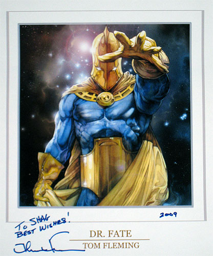 Doctor Fate by Tom Fleming for VS System card game