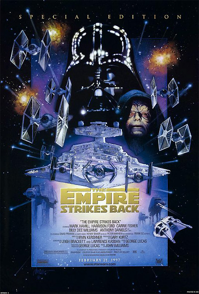 Empire Strikes Back Special Edition one sheet poster