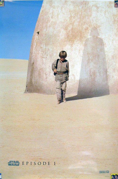 Star Wars Episode I Phantom Menace one sheet poster