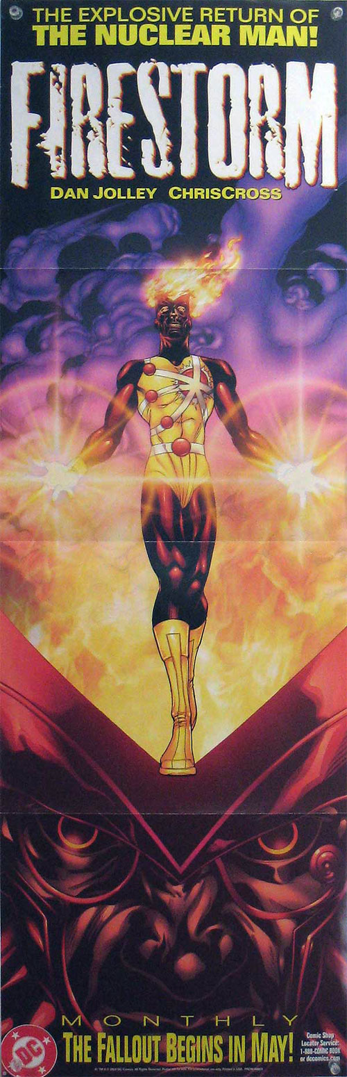 Firestorm promotional poster by CrissCross