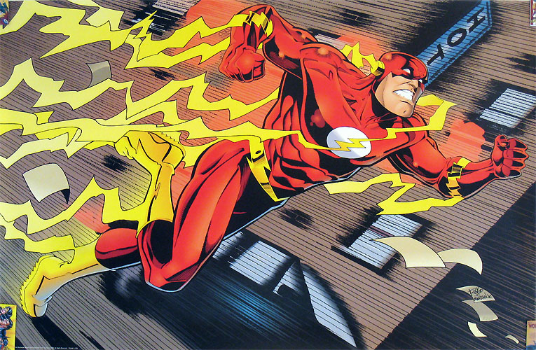 Flash poster by Mike Wieringo