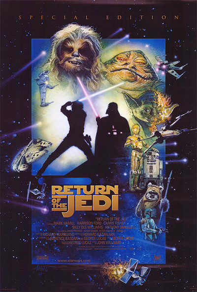 Return of the Jedi Special Edition one sheet poster