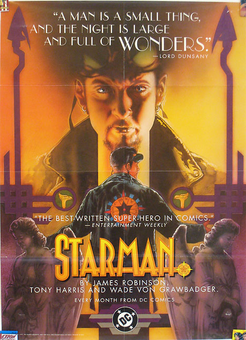 Starman promotional poster by Tony Harris