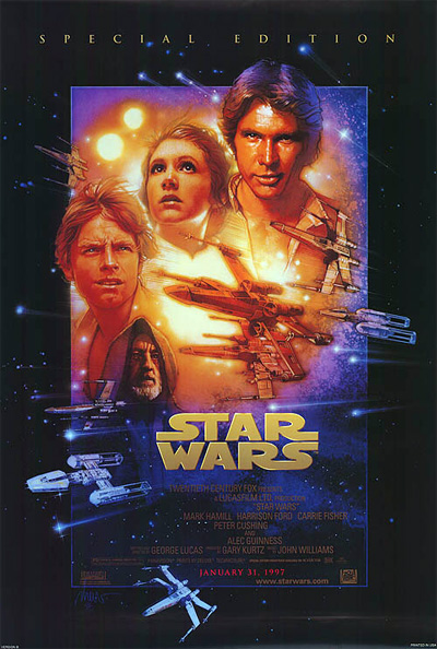 Star Wars Special Edition one sheet poster