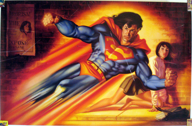 Superman - Faster than a Speeding Bullet by Joe DeVito