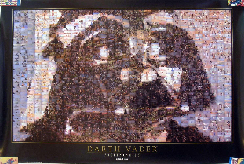 Darth Vader Photomosaics by Robert Silvers