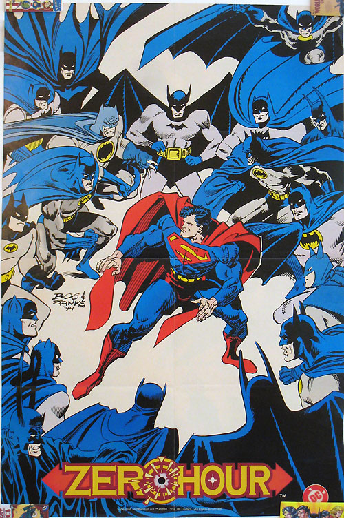Zero Hour - Superman and Batman by Jon Bogdanove