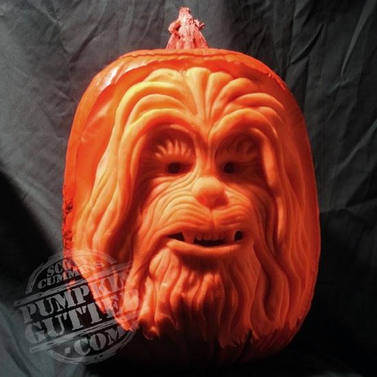 Chewbacca Pumpkin