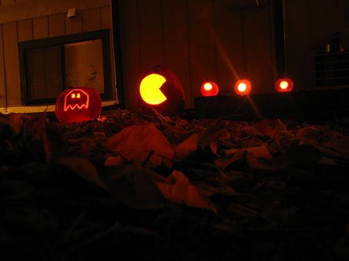 Pac-Man pumpkin