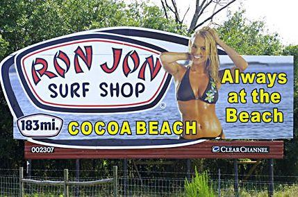 Ron Jon Surf Shop Billboard